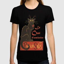 Tournee du Chat Noir D'Armistice Tribute Vector T-shirt