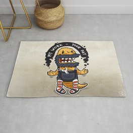 Unqualified Guest Worker is Looking for Job Rug