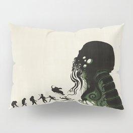 Lovecraftian Darwinism Pillow Sham