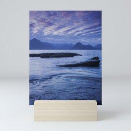 Sunset Over the Cuillin III Mini Art Print
