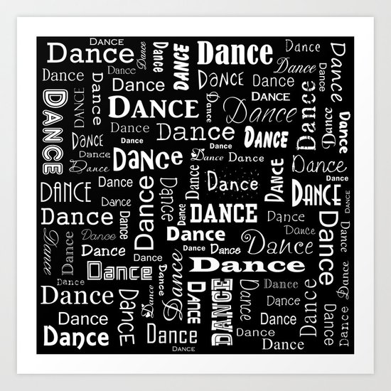 Just Dance! Art Print