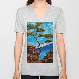 Cypress Tree Unisex V-Neck