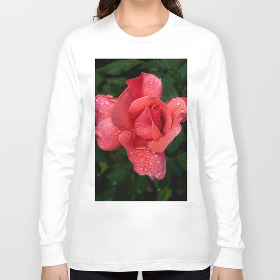 A rose after the rain Long Sleeve T-shirt