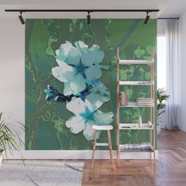Flore albo Wall Mural