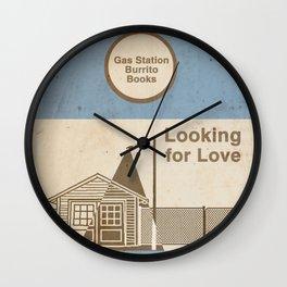 Looking for Love / a Zak & Dean Adventure Wall Clock