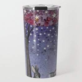 starlit bunnies Travel Mug