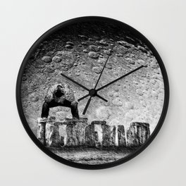 Stone & Despair Wall Clock