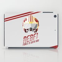 rebel iPad Cases featuring Rebel by Tony Vazquez