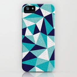 Painted Geos iPhone Case