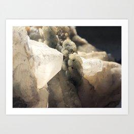 Calcite Art Print