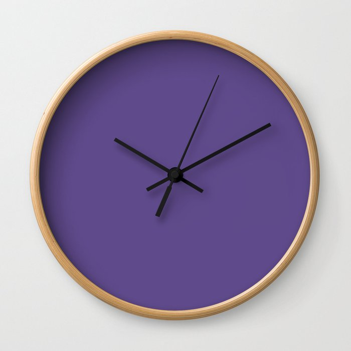 Ultra Violet Purple - Color of the Year 2018 Wall Clock