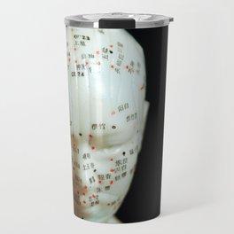 Acupuncture Doll Travel Mug