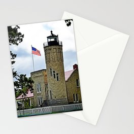 Mackinaw City Lighthouse Stationery Cards