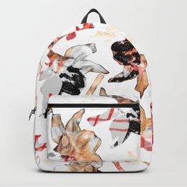 Flower carpet 24 Backpack