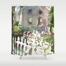 Elm Street Shower Curtain