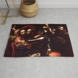 The Taking of Christ by Caravaggio (1602) Rug