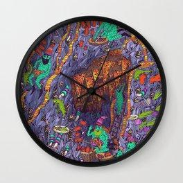 The Pizza Mine Wall Clock