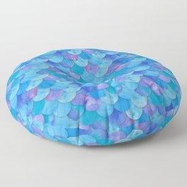 Mermaid Scale Floor Pillow