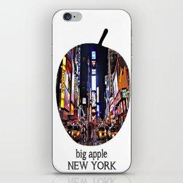 Print/ Big apple / New York iPhone Skin