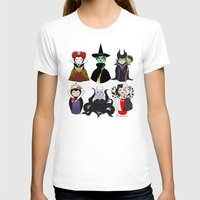 evil T-shirts featuring Evil kokeshis by Pendientera