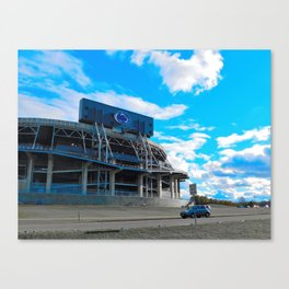 We are... all about that blue Canvas Print