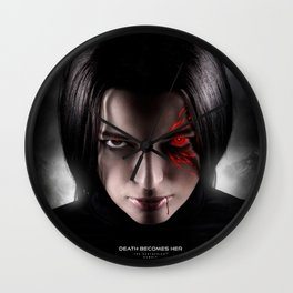 Death Becomes Her Wall Clock