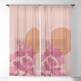 and where will we be on august 14th? Sheer Curtain