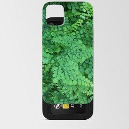 Maidenhair Ferns iPhone Card Case