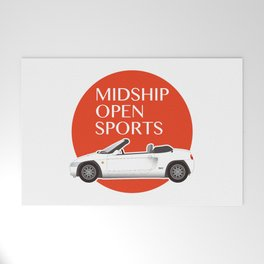 Midship Open Sports Welcome Mat