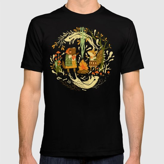 Animal Chants & Forest Whispers T-shirt