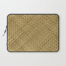 Basket Weaving Laptop Sleeve