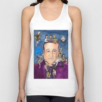 robin williams Tank Tops featuring Robin Williams  by Aviva Bubis Art and Stuff