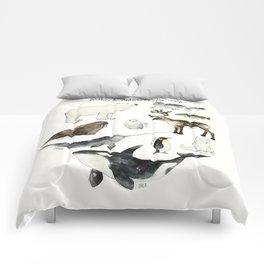 Arctic & Antarctic Animals Comforters