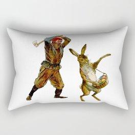 Rabbit Season Rectangular Pillow