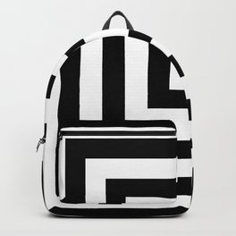Classic Black White Squares Backpack