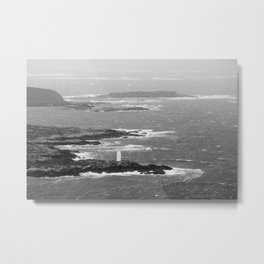 Ireland Oceanview Metal Print