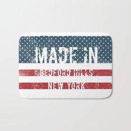 Made in Bedford Hills, New York Bath Mat
