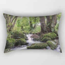 Romantic creek Rectangular Pillow