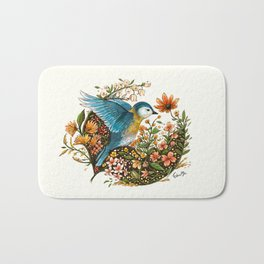 Wings of Courage Bath Mat
