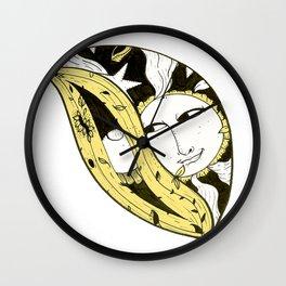 Sun meets Yoni Wall Clock