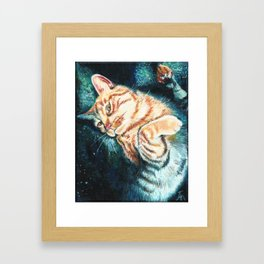 Is This Your Cat? Framed Art Print