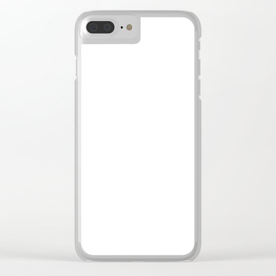 Hummingsplat - Colorless Clear iPhone Case