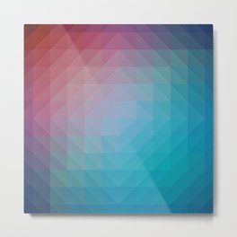Blend Pixel Color 6 Metal Print