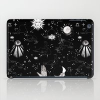 spiritual iPad Cases featuring Spiritual Alchemy by Deborah Panesar Illustration