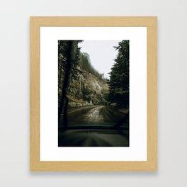 Road Trip X / Portland, Oregon Framed Art Print