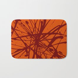 Bloom Red Bath Mat