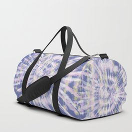 Indigo Tie-Dye Duffle Bag