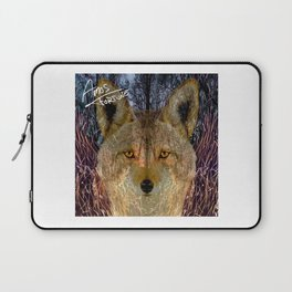 Long Night Coyote Laptop Sleeve