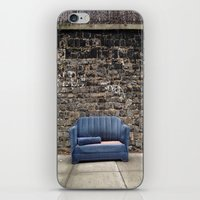 sofa iPhone & iPod Skins featuring sofa free by danielle marie