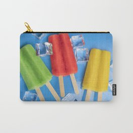 Colorful Ice Pops Carry-All Pouch